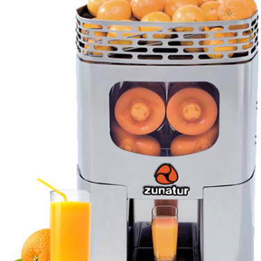Machine à jus d'orange zunatur fermée