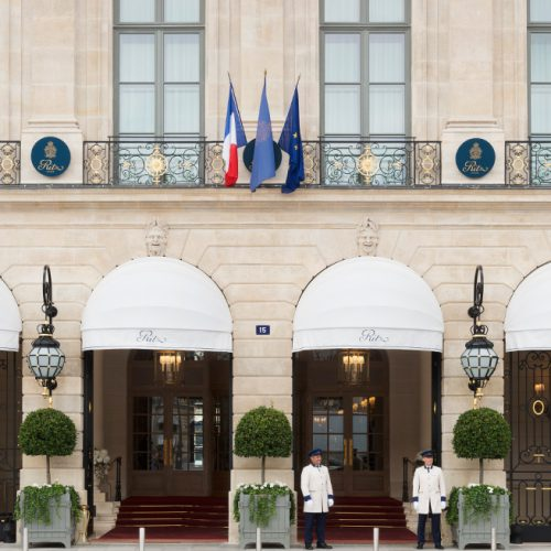 Facade Ritz Paris